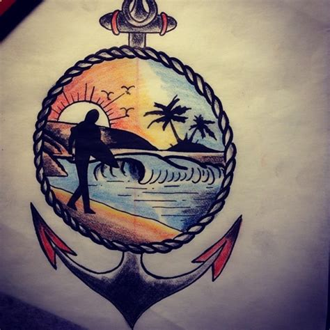 surfer tattoo 40 cool surf designs and ideas for you i luve sports