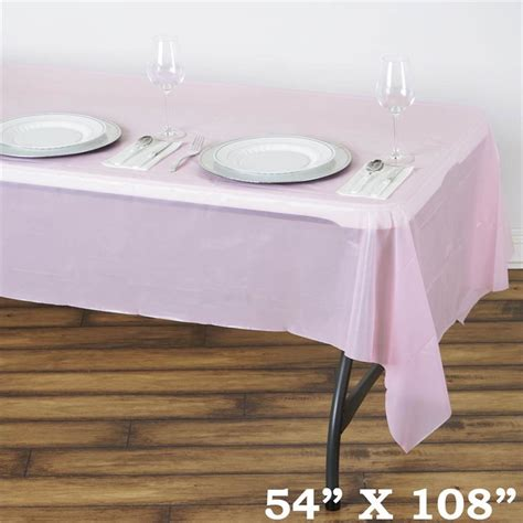 table covers for sale 54x108 inch disposable plastic table cover wedding