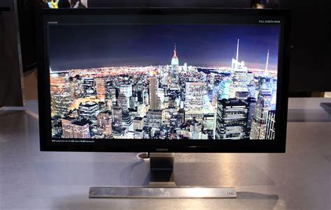 samsung 4k monitor samsung unveils curved 4k pc monitors flatpanelshd