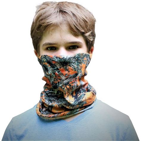 New New Design Camo Buff Buff Masker Bandana Real Tree Oak Tree blaze orange camo bandana buff see3d camo