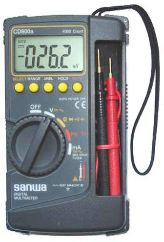 Multitester Sanwa price review and buy sanwa cd800a digital multimeter ksa souq