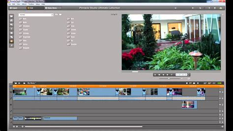 tutorial editing video pinnacle adding sound effects pinnacle studio tutorial basic