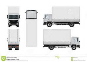 Truck Template by Truck Vector Template Stock Vector Image 86430603
