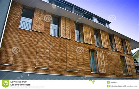 House Plans European modern wooden house facade stock image image of shutters