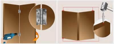 installer une porte pliante en bois porte