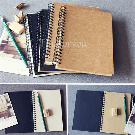 sketchbook ebay 100 sheets spiral bound coil sketch book blank notebook