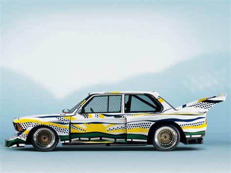 lichtenstein bmw bmw 320i turbo 5 car by roy lichtenstein e21 1977