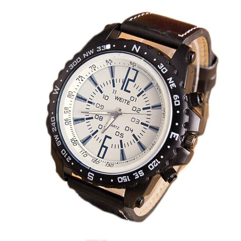 mens luxury stainless steel quartz sports watches