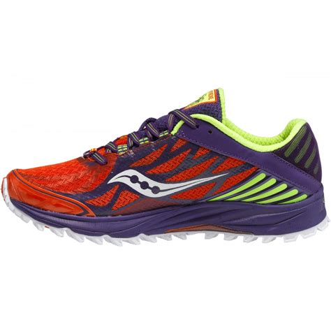 saucony minimalist shoes peregrine 4 minimalist trail running shoes orange purple