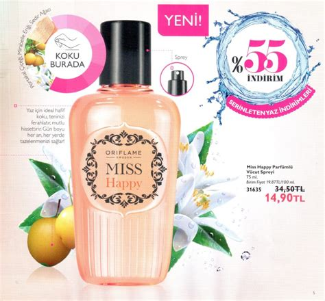 Parfum Oriflame Miss Happy by Miss Happy Oriflame Perfume A New Fragrance For 2015
