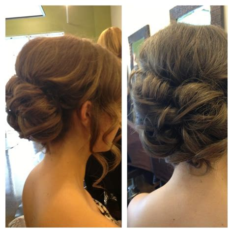pageant buns prom updo elegant bun formal hairstyles pinterest
