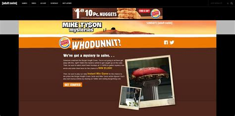 Burger King Giveaway - burger king presents whodunnit sweepstakes adultswim com mystery