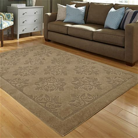 imperial washable rugs jcpenney home imperial medallion washable rectangular rug jcpenney