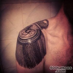 epaulette tattoo epaulette designs ideas meanings images