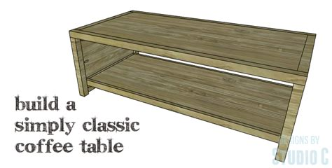 easy to build coffee table an easy to build coffee table with simple lines designs