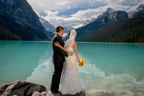 Wedding Canada by Destination Wedding At Lake Louise In Alberta Canada