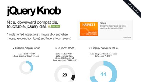 Jquery Knob Alternative by Jquery Sort Website Design Development And Search