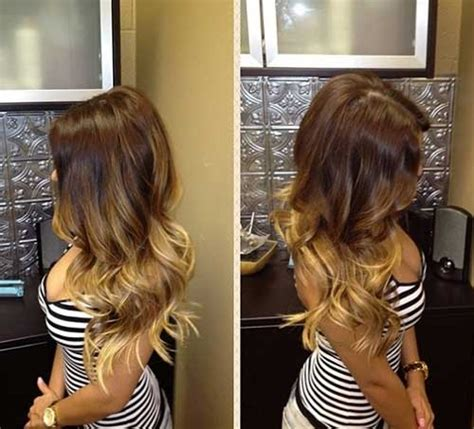 dyed hairstyles 20 best ombre hair color hairstyles 2016 2017