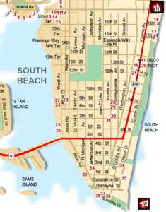 South Beach Miami Map by South Beach Miami Map Related Keywords Amp Suggestions