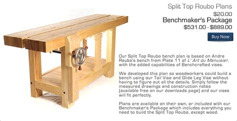 benchcraftedcom split top roubo