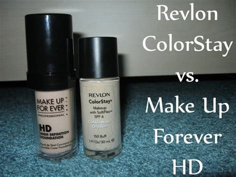 Revlon Hd Foundation revlon colorstay vs make up for hd by bethany