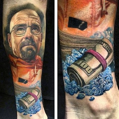 aaron paul tattoos breaking bad tattoos boing boing