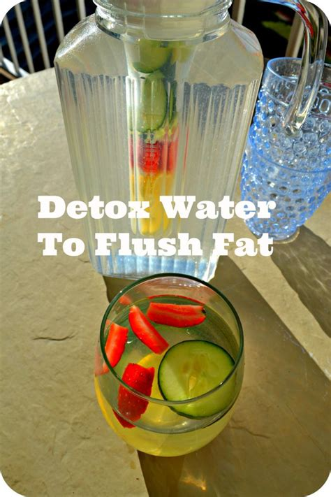 Flushing Water Detox by Detox Water Drink To Flush Recipe Detox Drinks