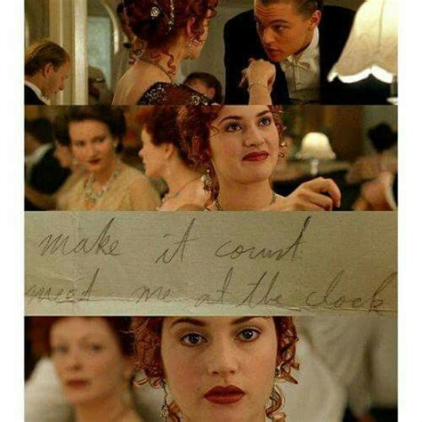 film ya titanic make it count meet me at the clock titanic pinterest