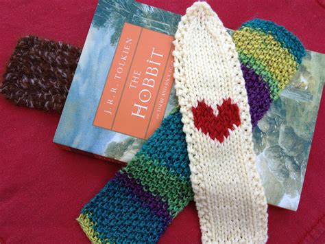 knitted bookmarks less noise more green guest post a trio of knitted