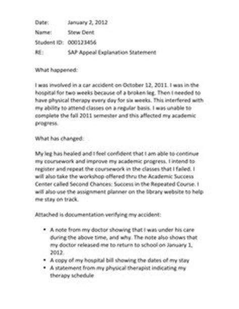 Academic Progress Explanation Letter Yorku 1000 images about sle appeal letters on