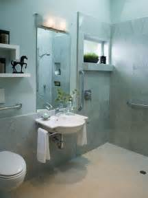 Handicap Bathroom Design by Handicap Accessible Bathroom Designs Houzz
