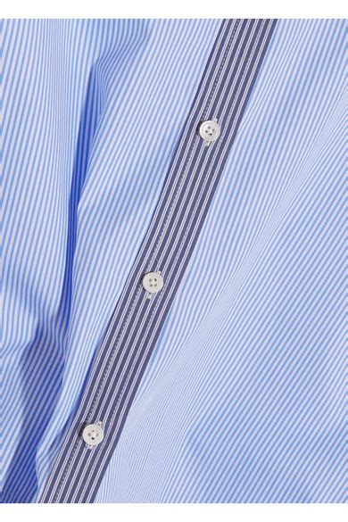 Lenny Stripe joseph lenny striped cotton poplin shirt modesens