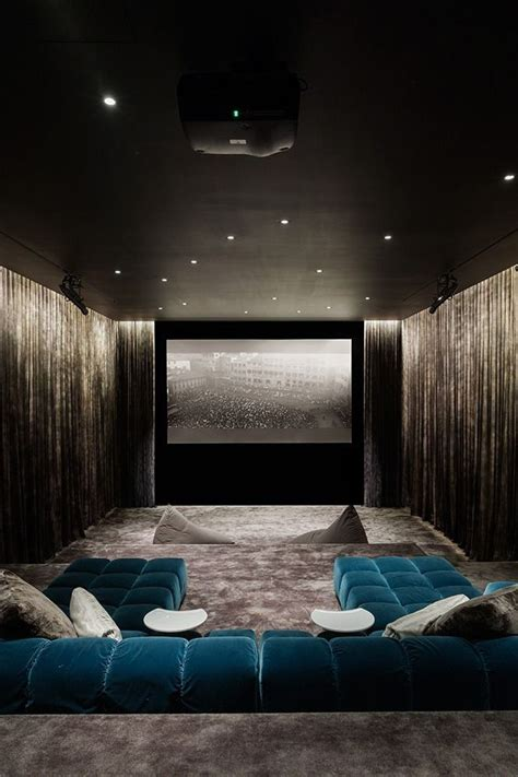 Home Cinema Interior Design 25 Best Ideas About Home Theater Design On