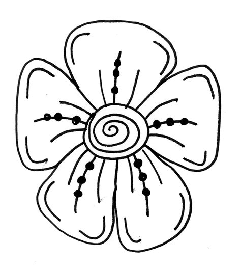 Easy To Draw Flowers by Makers And Shakers How To Draw Doodle Flowers 9 Easy Steps