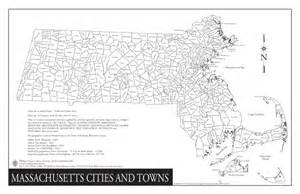 map with all cities and towns massachusetts cities and towns wazeopedia