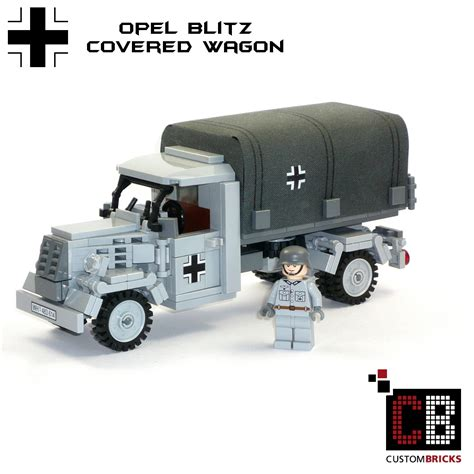 opel blitz ww2 custombricks de ww2 wwii wehrmacht willys jeep mit
