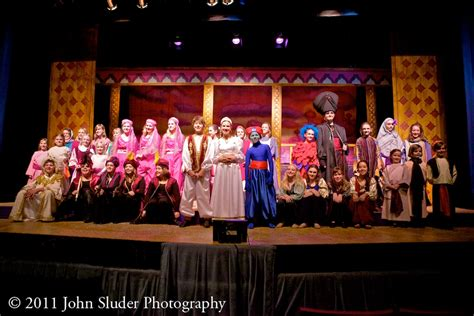 places please aladdin jr at the henegar center john