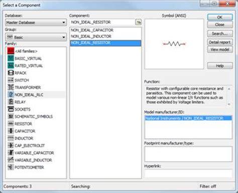 power resistor multisim multisim resistor 28 images parallel circuit in multisim simulating water conductance in