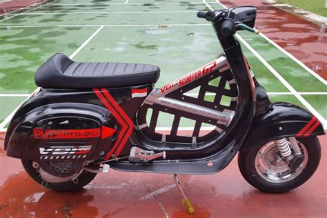 Modifikasi Vespa 1979 by Modifikasi Vespa Pts Racing 28 Images Vespa Spartan