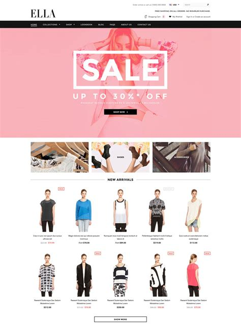 shopify themes ella 15 best premium responsive ecommerce shopify themes