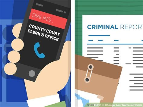If I Change My Name Will My Criminal Record Follow Me How To Change Your Name In Florida 8 Steps With Pictures