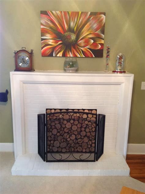 cover fireplace how to cover a fireplace 25 best ideas about fireplace