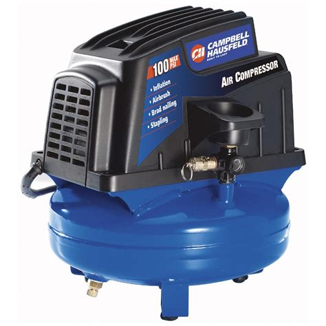 cbell hausfeld 174 1 gallon pancake air compressor 167123 air tools at sportsman s guide