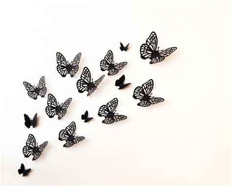 Gothic Wall Stickers printable butterfly cutouts cliparts co