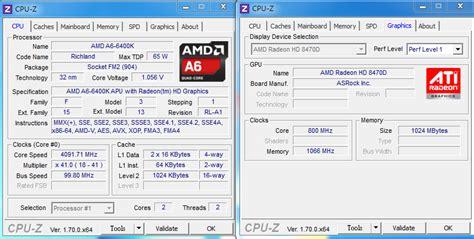 Amd Richland A6 6400k Radeon Hd8470d 39ghz Cache 1mb 65w Socket F jual processor amd a6 6400k socket fm2 tridaya komputer
