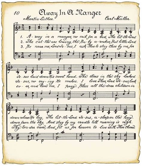 printable xmas sheet music downloadable vintage sheet music crafty girls pinterest