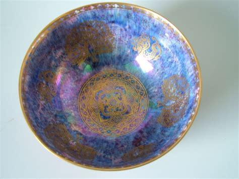 pattern maker portland wedgwood butterfly peacock lustre bowl