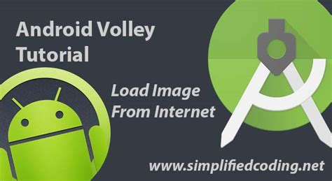 tutorial android volley android volley exle to load image from internet