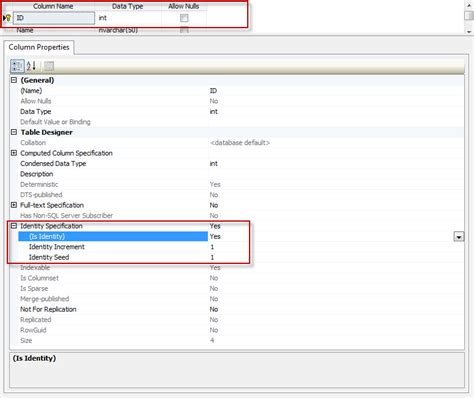 Sql Change Value In Table Sql Server 2008 Auto Increment Primary Key In Sql Tables Stack Overflow