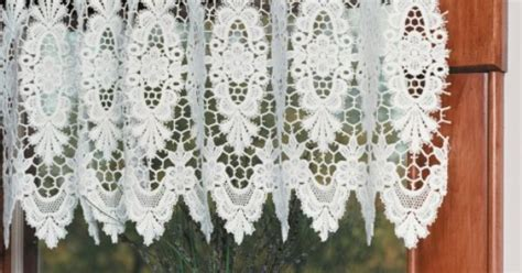 french macrame lace curtains victoria ring lace curtains french macrame lace door